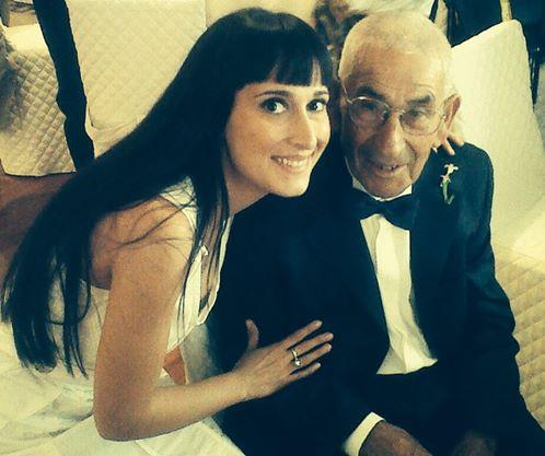 Elena e nonno Generoso