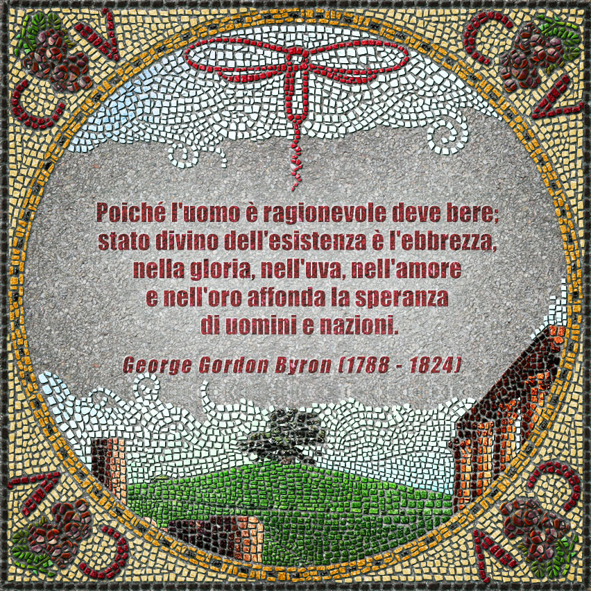 citazioni mosaico Lord Byron