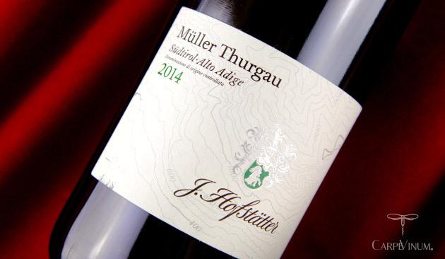 Müller Thurgau 2014 - Tenuta Hofstätter_cover