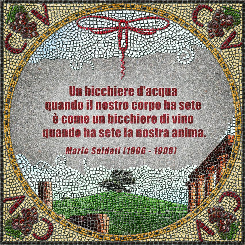 citazioni mosaico Mario Soldati