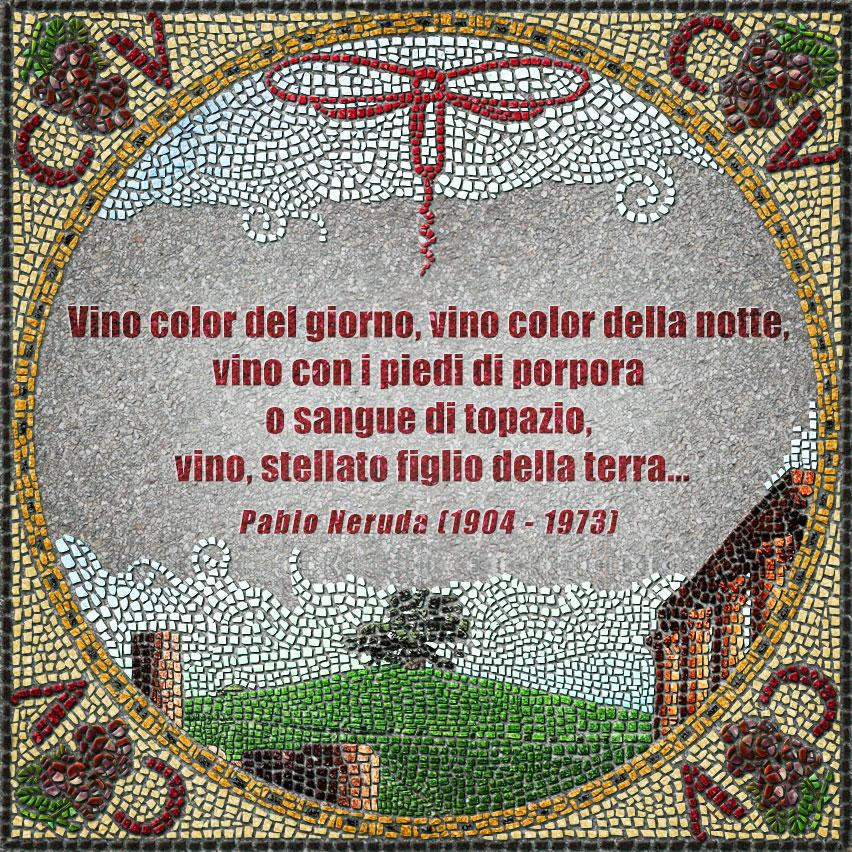 citazioni mosaico Neruda