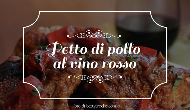 pollo al vino rosso