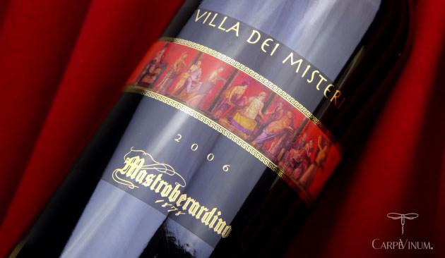 Mastrobernardino Villa dei Misteri 2006 cover