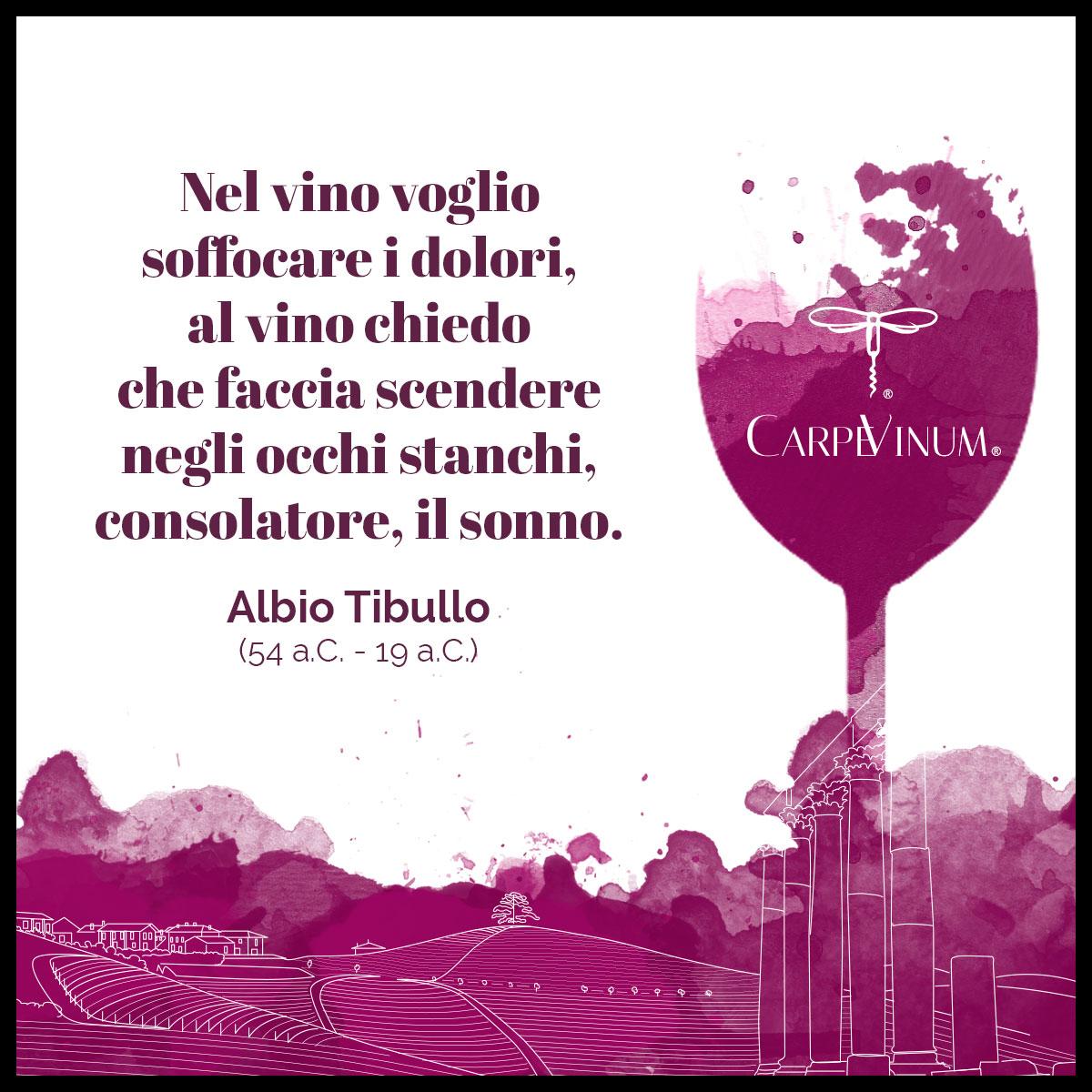 citazione di Albio Tibullo
