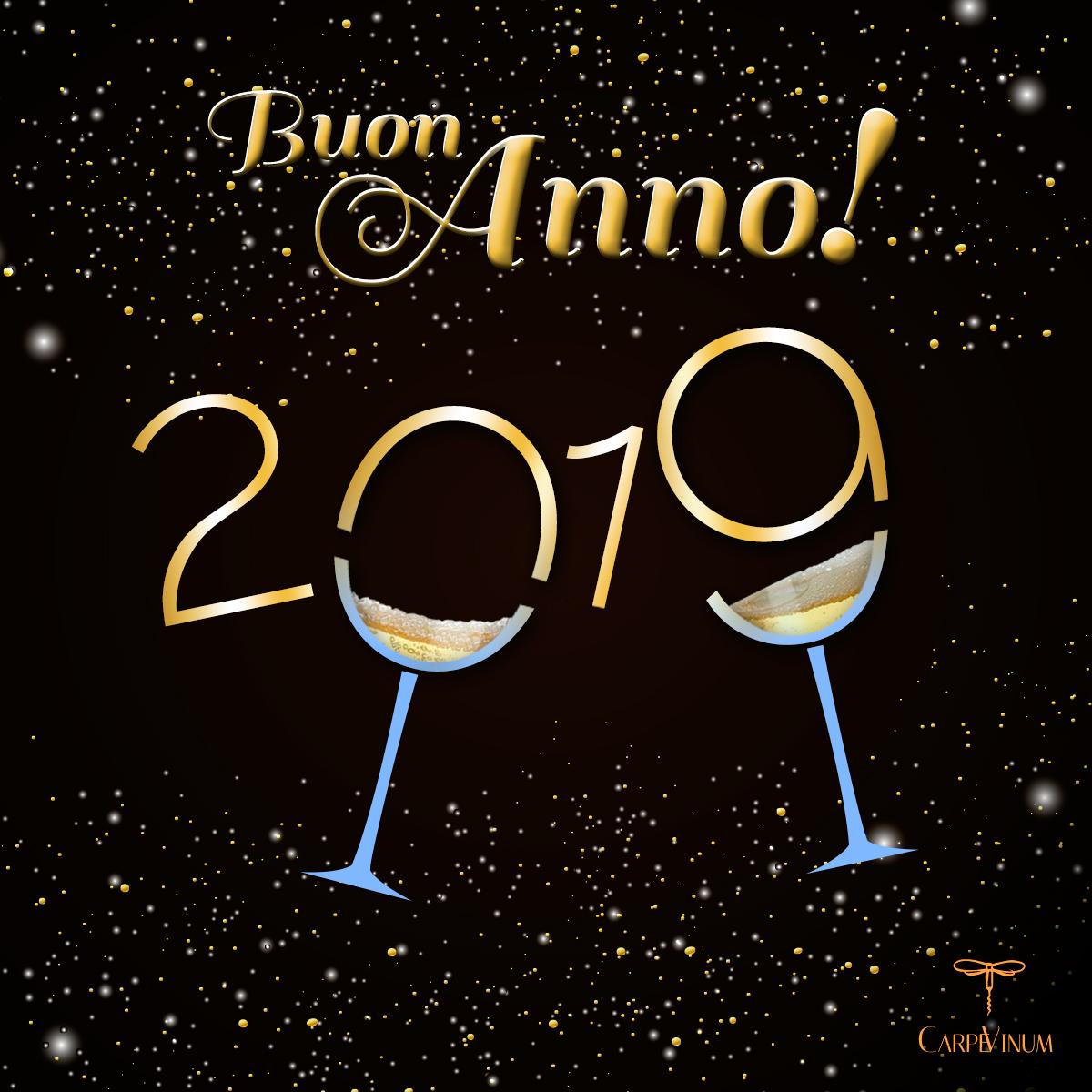 Buon 2019 da Carpe Vinum!