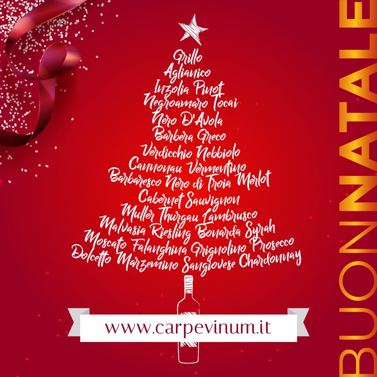 Buon Natale 2019 da Carpe Vinum