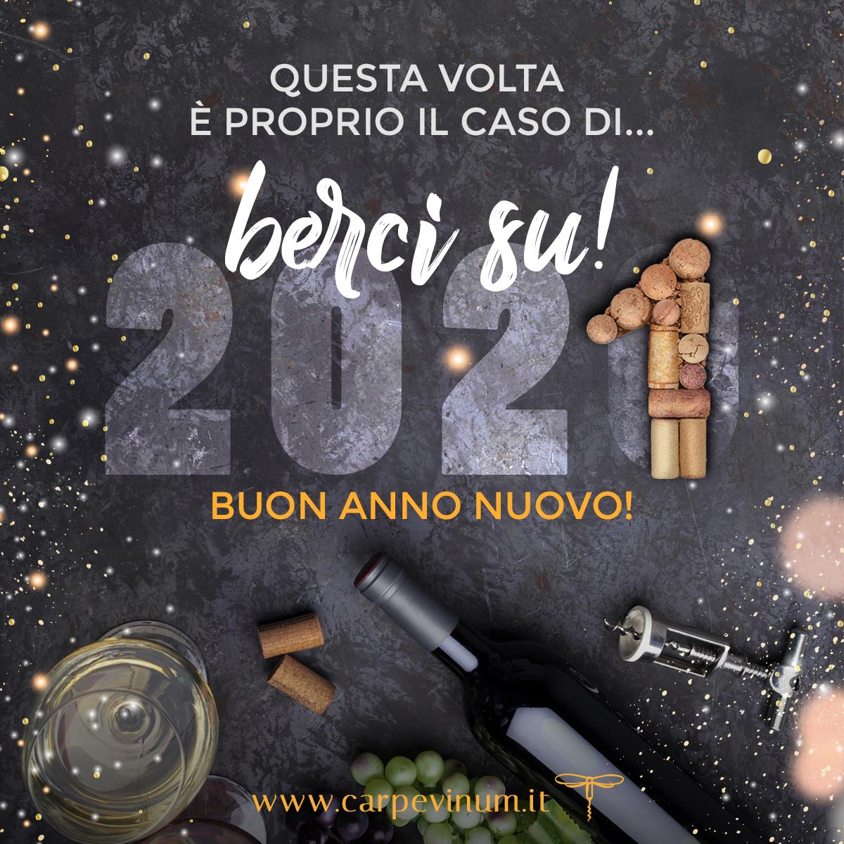Auguri di Capodanno 2021